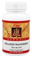 Kan Herb Co. - Herbals Relaxed Wanderer 700 mg. - 120 Tablets