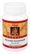 Kan Herb Co. - Herbals Relaxed Wanderer 700 mg. - 60 Tablets