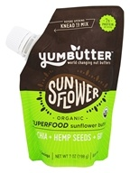 Yumbutter - Organic Go-Anywhere Superfood Pouch Sunflower Butter - 7 oz.