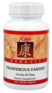 Kan Herb Co. - Herbals Prosperous Farmer 700 mg. - 120 Tablets