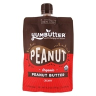 Yumbutter - Organic Go-Anywhere Superfood Pouch Peanut Butter - 7 oz.