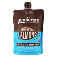 Yumbutter - Organic Go-Anywhere Superfood Pouch Almond Butter - 7 oz.