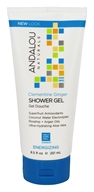 Andalou Naturals - Energizing Shower Gel Clementine Ginger - 8.5 oz.