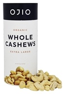 Ojio - Organic Whole Cashews - 8 oz.