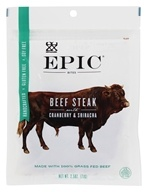 Epic - Gluten Free Beef Steak Jerky Bites Cranberry and Sriracha - 2.5 oz.