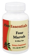 Kan Herb Co. - Essentials Four Marvels 500 mg. - 120 Tablets