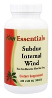 Kan Herb Co. - Essentials Subdue Internal Wind 500 mg. - 300 Tablets