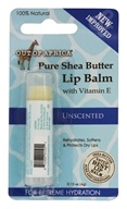 Out Of Africa - Pure Shea Butter Lip Balm Unscented - 0.15 ...