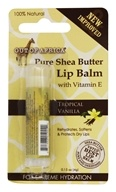 Out Of Africa - Pure Shea Butter Lip Balm Tropical Vanilla - 0.15 oz.