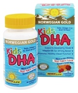 Renew Life - Kids DHA Fruit Punch flavor - 60 Chewable Softgels