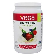 Vega - Protein & Greens Drink Mix Berry - 21.5 oz.
