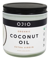 Ojio - Organic Coconut Oil - 16 oz.