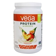 Vega - Protein & Greens Drink Mix Tropical - 20.8 oz.