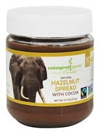 Endangered Species - Natural Hazelnut Spread with Cocoa - 9.7 oz.