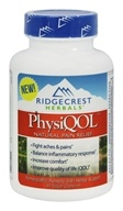 Ridgecrest Herbals - PhysiQOL Natural Pain Relief - 60 Vegan Caps