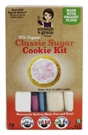 Scratch & Grain Baking Co. - 92% Organic Cookie Kit Classic Sugar - 12.7 oz.