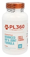 PL360 - Arthogen Plus Advanced Hip & Joint Formula For Dogs Beef & Cheese Flavored - 90 Chewable Tablets