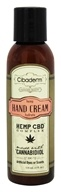 Cibaderm - Hemp Hydrate Hand Cream - 4 oz.