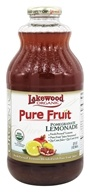 Lakewood - Organic Pure Fruit Juice Blend Pomegranate Lemonade - 32 oz.