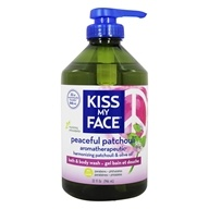 Kiss My Face - Bath & Body Wash Peaceful Patchouli - 32 oz.