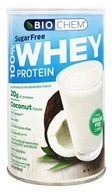 BioChem by Country Life - 100% Whey Sugar Free Protein Coconut - 11.2 oz.