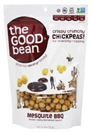 The Good Bean - All Natural Chickpea Snack Mesquite BBQ - 6 oz.