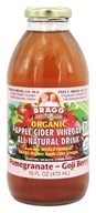 Bragg - Organic Apple Cider Vinegar All Natural Drink Pomegranate Goji Berry - 16 oz.