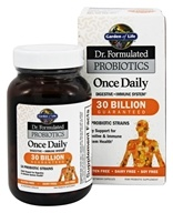 Garden of Life - Dr. Formulated Probiotics Once Daily 30 Billion - 30 Vegetarian Capsules