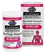 Garden of Life - Dr. Formulated Probiotics Once Daily Women's 50 Billion - 30 Vegetarian Capsules