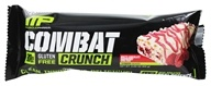Muscle Pharm - Combat Crunch Bar White Chocolate Raspberry - 2.22 oz.