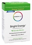 Rainbow Light - Bright Energy - 30 Vegetarian Capsules (Formerly Rhodiola Recharge)