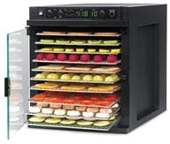Sedona Express Food Dehydrator with Stainless Steel Trays SD-6780 by TriBest