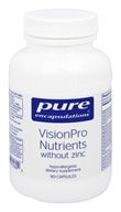 Pure Encapsulations - VisionPro Nutrients without Zinc - 90 Vegetarian Capsules