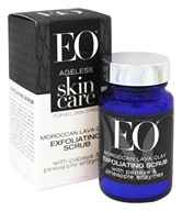 EO Products - Ageless Skin Care Moroccan Lava Clay Exfoliating Scrub with Papaya & Pineapple Enzymes - 1.5 oz.