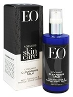 EO Products - Ageless Skin Care Coconut Cleansing Milk with Hibiscus & Mango Seed Butter - 3.3 oz.