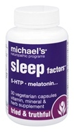 Michael's Naturopathic Programs - Sleep Factors - 30 Vegetarian Capsules