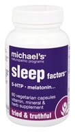 Michael's Naturopathic Programs - Sleep Factors - 60 Vegetarian Capsules