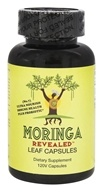 Moringa Revealed - 100% Moringa Leaf Capsules Plus Probiotic African Grown - 120 Vegan Caps