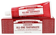 Dr. Bronners - All-One Toothpaste Fluoride Free Cinnamon - 5 oz.