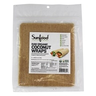 Sunfood Superfoods - Coconut Wraps Raw Vegan - 7 Pack