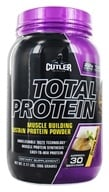 Cutler Nutrition - Total Protein Muscle Building Sustain Protein Powder Creamy Vanilla 30 Servings - 2.17 lbs.