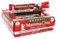Mamma Chia - Organic Chia Vitality Bar Cherry & Dark Chocolate - 12 Bars