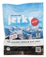 New Zealand Jerky - New Zealand Premium Beef Jerky Peppered - 3 oz.