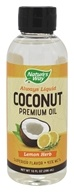 Nature's Way - Always Liquid Premium Coconut Oil Lemon Herb - 10 oz.