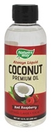 Nature's Way - Always Liquid Premium Coconut Oil Red Raspberry - 10 oz.