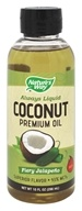 Nature's Way - Always Liquid Premium Coconut Oil Fiery Jalapeno - 10 oz.