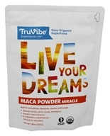 TruVibe - 100% Organic Raw Maca Powder - 8 oz.