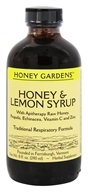 Honey Gardens Apiaries - Honey & Lemon Syrup - 8 oz.