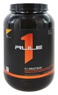 Rule One Proteins - R1 Protein Ultra Pure Whey Isolate/Hydrolysate Formula 38 Servings Lightly Salted Caramel - 2.42 lbs.