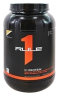 Rule One Proteins - R1 Protein Ultra Pure Whey Isolate/Hydrolysate Formula 38 Servings Cookies & Creme - 2.42 lbs.
